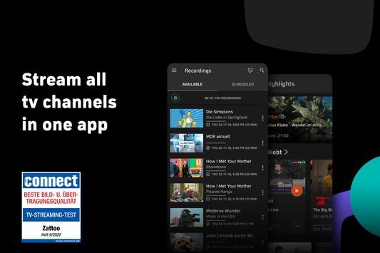Zattoo - TV Streaming App poster