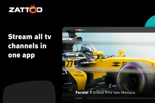 Zattoo - TV Streaming App screenshot 14