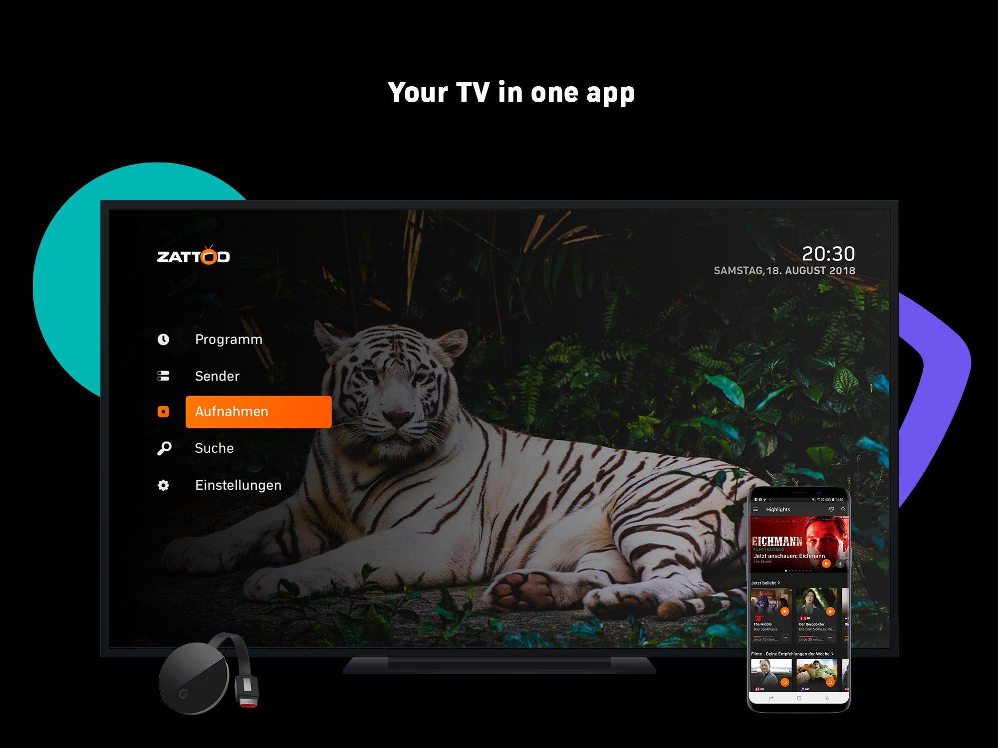 Zattoo - TV Streaming App for Android - APK Download