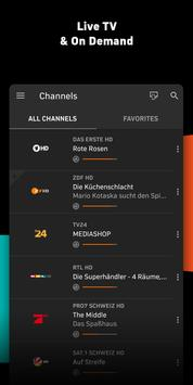 Zattoo - TV Streaming App screenshot 1