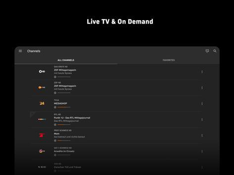 Zattoo - TV Streaming App screenshot 8