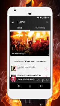 Metal Radio Stations - The Best Metal Music Online poster