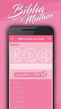 Bíblia para Mulher MP3 captura de pantalla 3