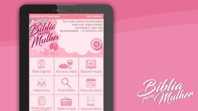 Bíblia para Mulher MP3 screenshot 14