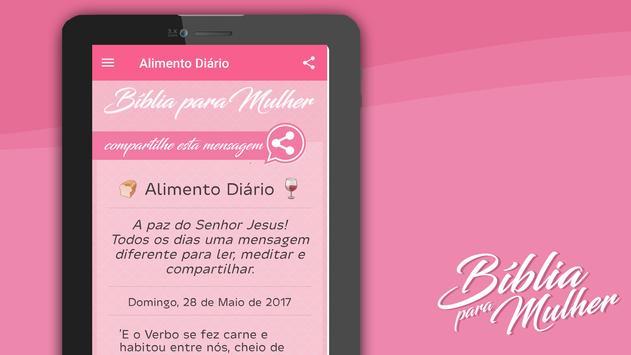 Bíblia para Mulher MP3 captura de pantalla 15