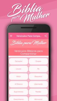 Bíblia para Mulher MP3 captura de pantalla 2