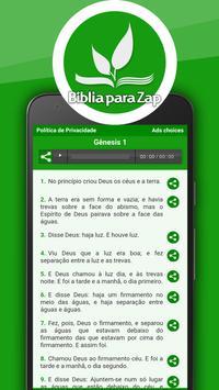 Bíblia para Zap screenshot 1
