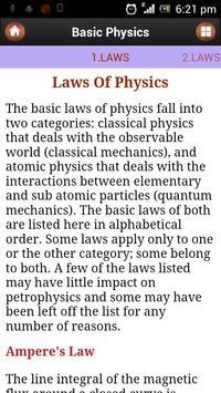 Basic Physics imagem de tela 2
