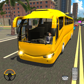 Bus Driving Sim 2019 - Bus Driving Free Ride icon