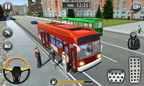 Bus Driving Sim 2019 - Bus Driving Free Ride screenshot 1
