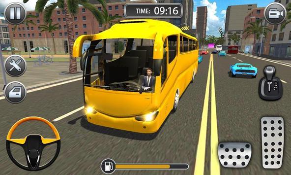 Bus Driving Sim 2019 - Bus Driving Free Ride screenshot 2