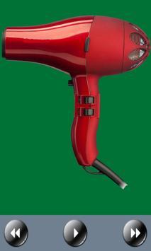 مجفف الشعر، والصوت تصوير الشاشة 2