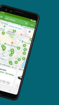 Zipcar screenshot 1