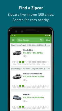 Zipcar स्क्रीनशॉट 2