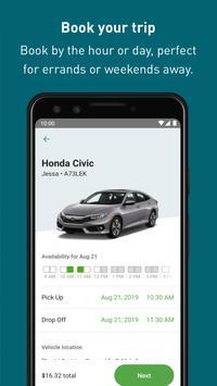 Zipcar स्क्रीनशॉट 3