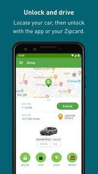 Zipcar स्क्रीनशॉट 4