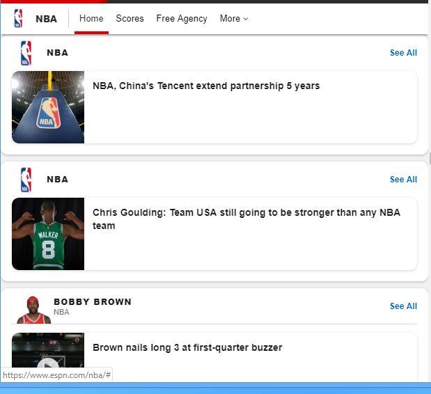 ESPN NBA cho Android - Tải về APK