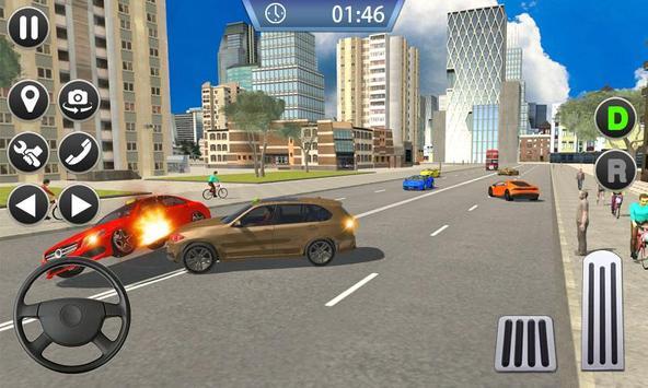 Taxi Sim 2019 - City Taxi Driver Simulator 3D screenshot 1