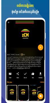 zChannel Movie تصوير الشاشة 1