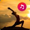 Icona Musica yoga per il relax e la meditazione.