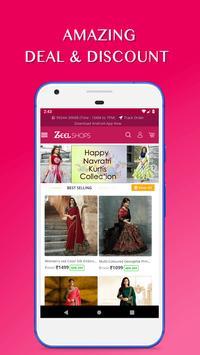 Zeelshops India Online Shopping App poster