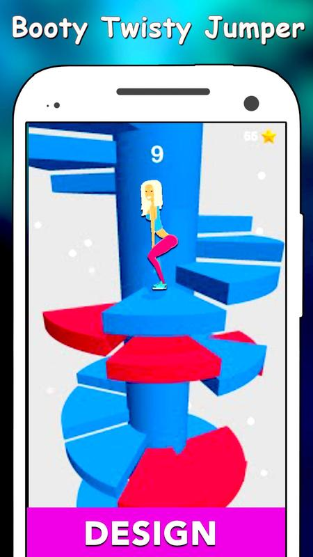 bb29acf0eee9 Booty Twisty Bouncing Challenge -Spiral Next Level for Android - APK ...