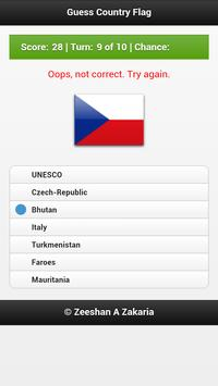 Guess Countries Flags screenshot 2