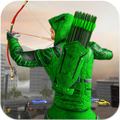 Arrow Super hero games: Bow and arrow games