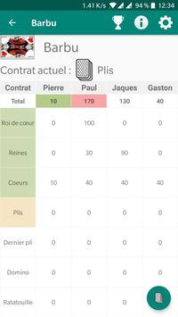 Compte Score de Poche screenshot 1