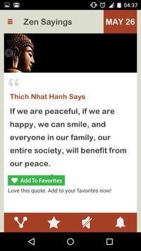 Zen Saying Daily screenshot 1