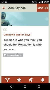 Zen Saying Daily screenshot 4