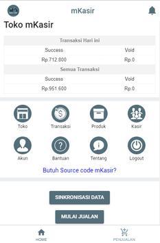 mKasir POS app - source code can be downloaded poster