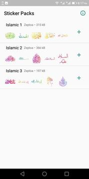 Islamic Stickers poster