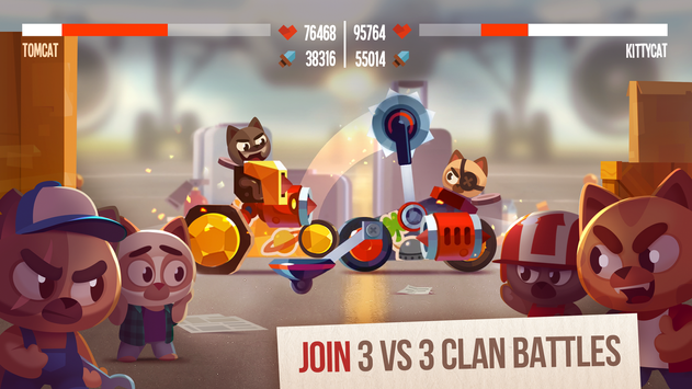 CATS: Crash Arena Turbo Stars screenshot 3