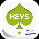 Keys Theme - ZERO launcher