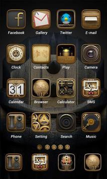 Metal Theme - ZERO launcher screenshot 1