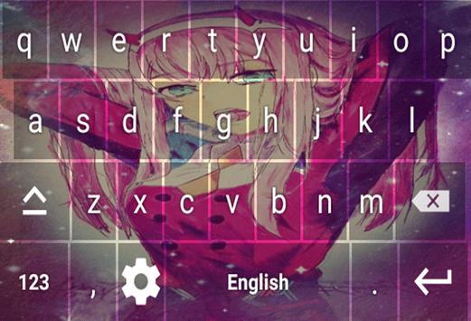 Keyboard zero two darling screenshot 4