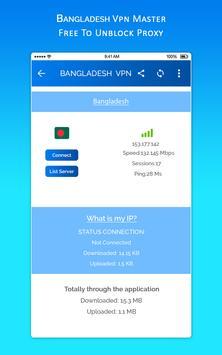 Bangladesh VPN MASTER - Free To Unblock Proxy cho Android - Tải về APK