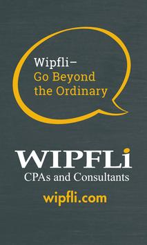 Wipfli Events poster