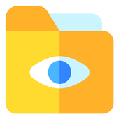 Hide video text photo vault icon