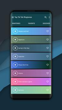 Top Ringtones from Tik Tok music poster