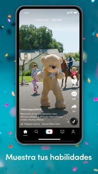 TikTok captura de pantalla 1