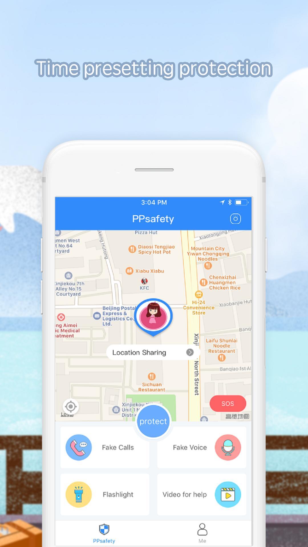 Finding friends app ios