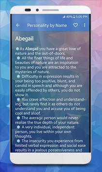 Name & Personality Analyzer screenshot 3