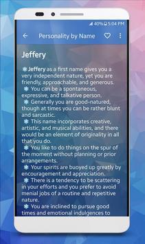 Name & Personality Analyzer screenshot 1