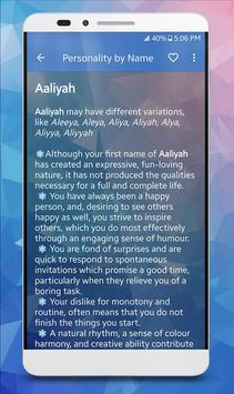 Name & Personality Analyzer screenshot 4
