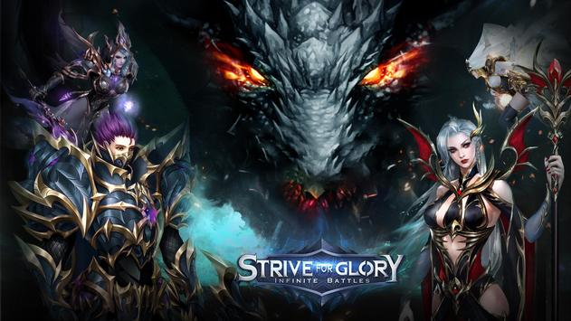 Poster Strive for Glory