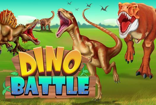 Dino Battle plakat