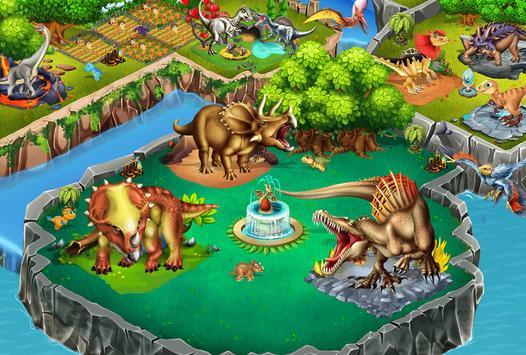 Dino Battle screenshot 1