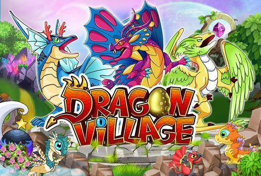 DRAGON VILLAGE -city sim mania Poster